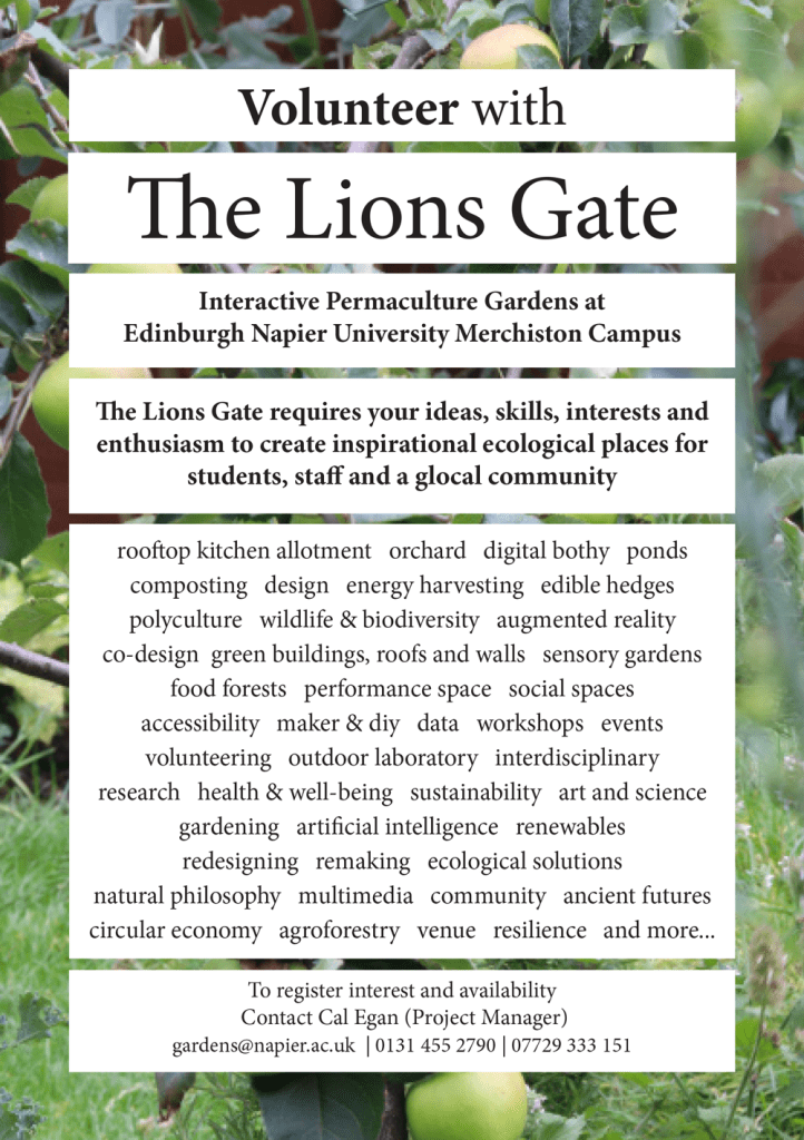 Volunteer with The Lions' Gate