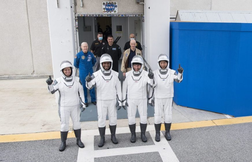 NASA's SpaceX Crew-1 Astronauts Rehearse for Launch Day ...