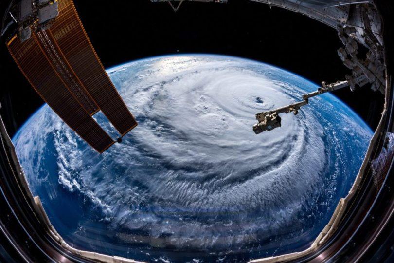 Imagem da ISS de Florença