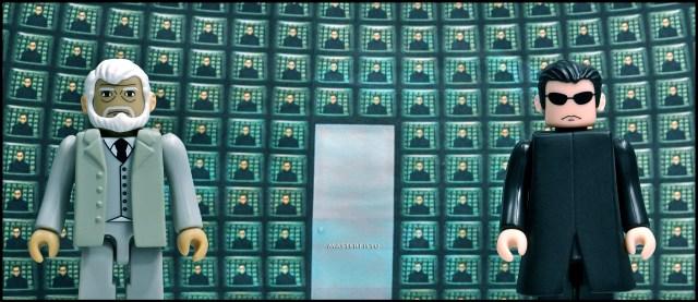 Neo & The Architect (The Matrix). Rob Gillespie, CC-licensed