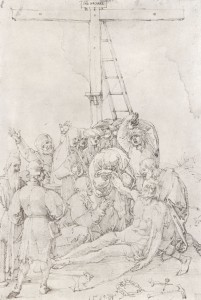 Albrecht Dürer Beweinung Christi. Quelle: zeno.org