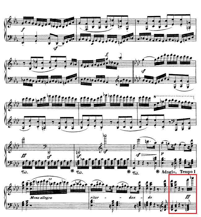 Beethoven op. 111 - 1. Satz - Takt 55