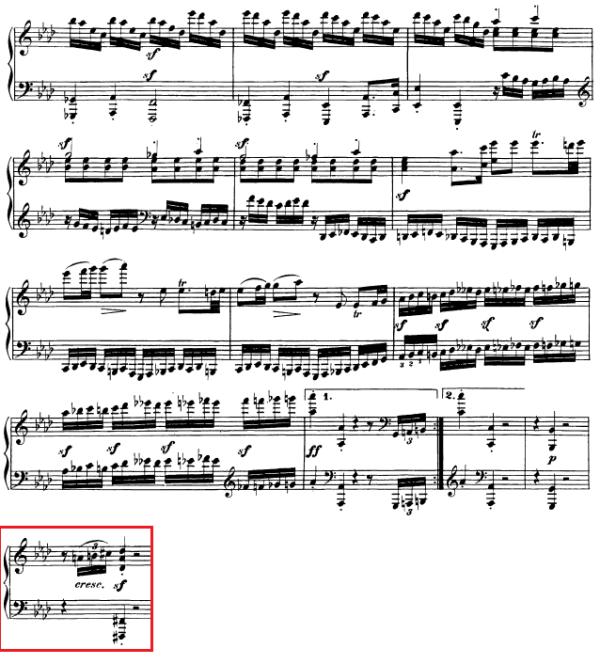 op. 111 – Eine Analyse in 335 Teilen – Takt 71
