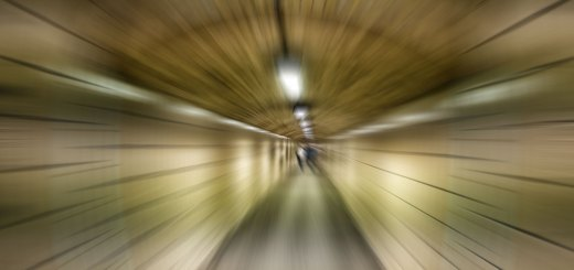 Da fliegt es hin in der Tube. Foto: Hufner