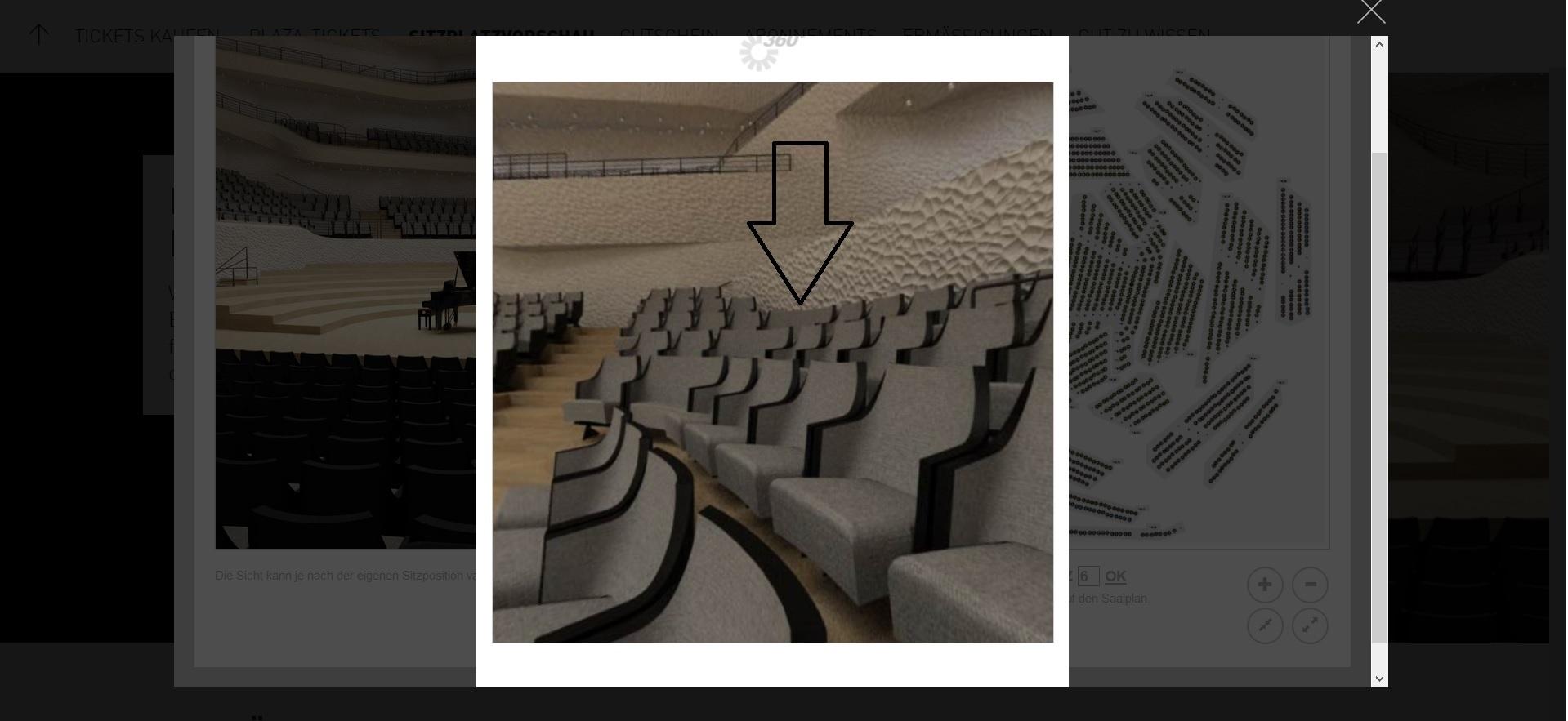 Der beste Platz in der Elbphilharmonie