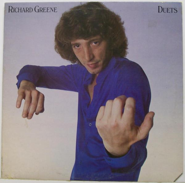 Richard Greene Duets. Cover