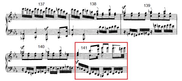 op. 111 – Eine Analyse in 335 Teilen – Takt 141