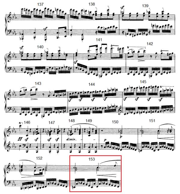 op. 111 – Eine Analyse in 335 Teilen – Takt 153