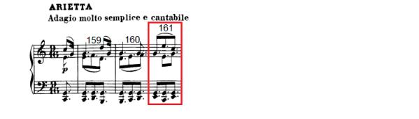 op. 111 – Eine Analyse in 335 Teilen – Takt 161