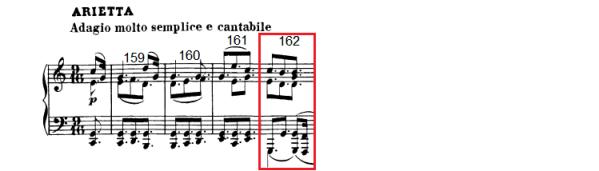 op. 111 – Eine Analyse in 335 Teilen – Takt 162