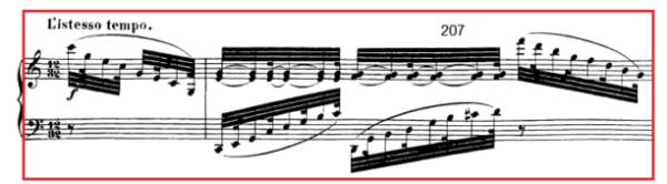 op. 111 – Eine Analyse in 335 Teilen – Takt 207
