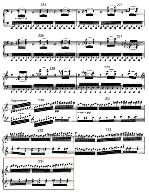 op. 111 – Eine Analyse in 335 Teilen – Takt 234