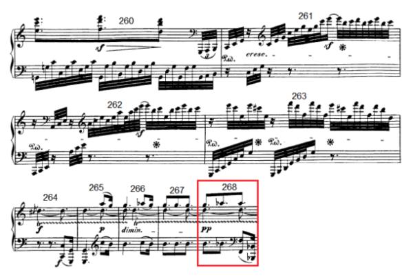 op. 111 – Eine Analyse in 335 Teilen – Takt 268