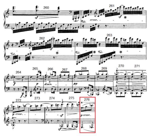op. 111 – Eine Analyse in 335 Teilen – Takt 276