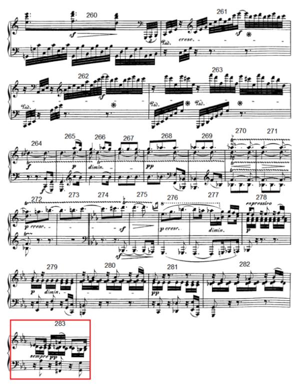 op. 111 – Eine Analyse in 335 Teilen – Takt 283