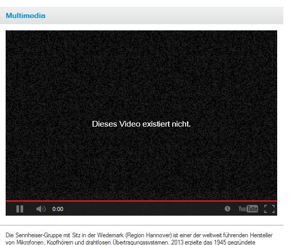Dieses Video existiert nicht. Foto: Website Sennheiser