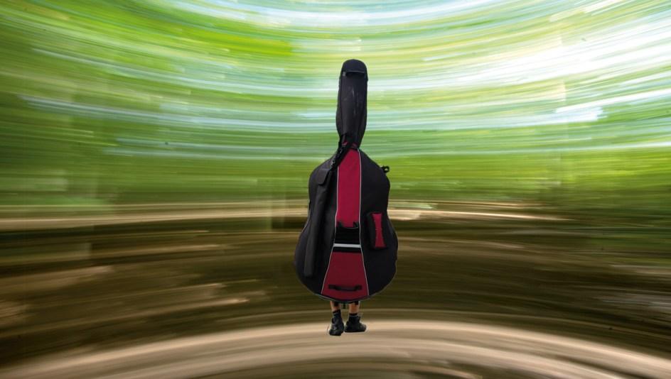 Kontrabass-Solo. Foto: Hufner