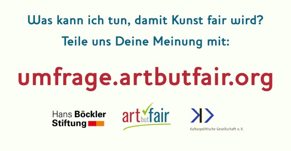 Art but Fair - Umfrage