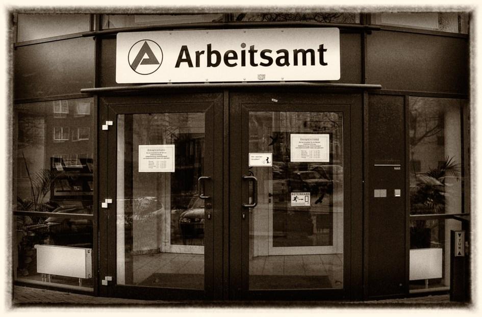 Arbeitsamt Mülheim. Foto: Hufner