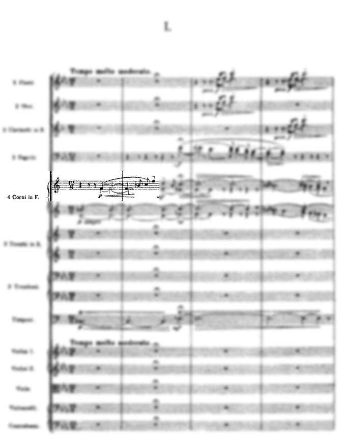 Siebelius - Fünfte Sinfonie (Anfang)