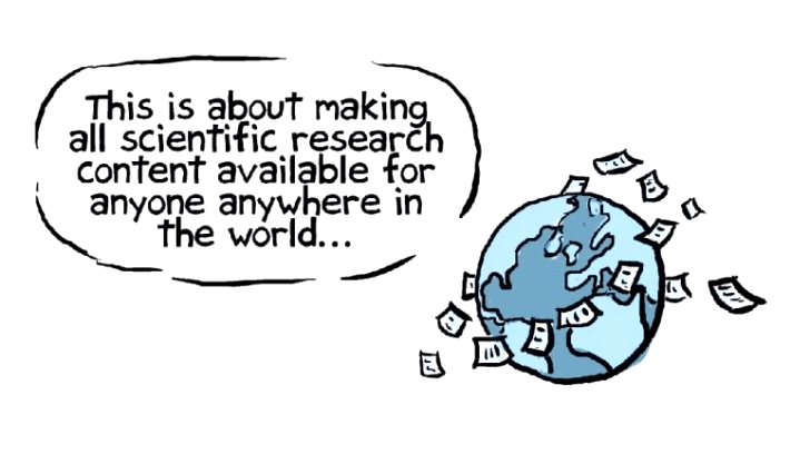 Day 1, a look at Open Access publishing