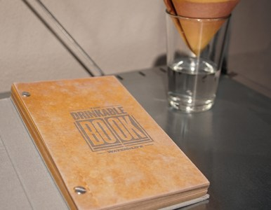 Ars Electronica 2016 – Drinking A Book