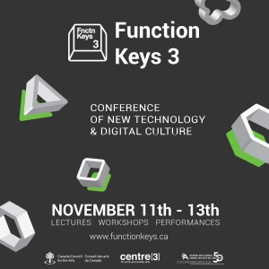 Function Keys – a new-ish conference on new technology and digital culture