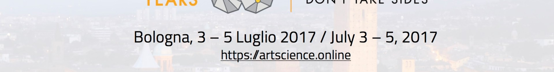 art*science 2017/Leonardo 50 – A supernova that lights a new history