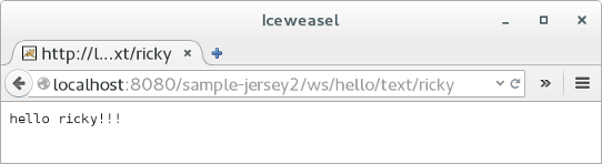 Implementing A Jersey 2 Application With Maven