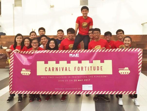 MAE Club Student Volunteers.