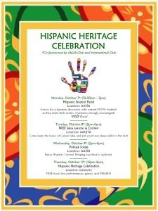 Hispanic Heritage Flyer