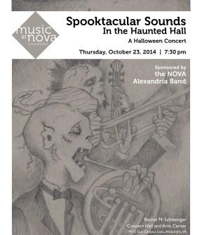 Halloween Concert Flyer 2014