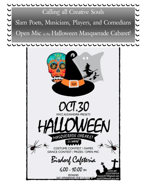 Halloween Event Flier 2014