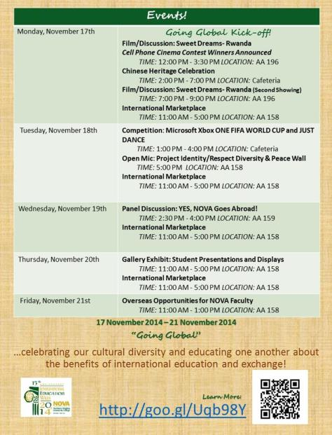 IEW Agenda as of 11.5.2014