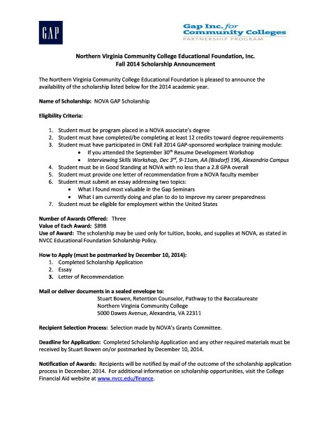 Gap Scholarship Announcement  Application (2)-page-0