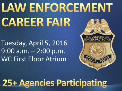 Law Enforcement Job Fair 4.5.16