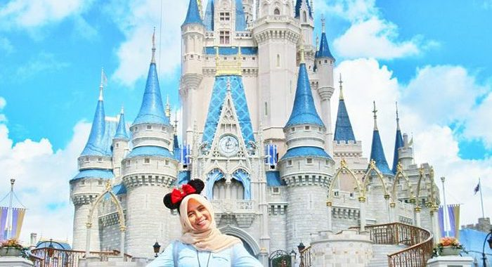Fatimah at Disney