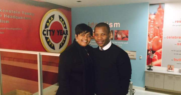 Tuemlo and City Year SA Executive Director