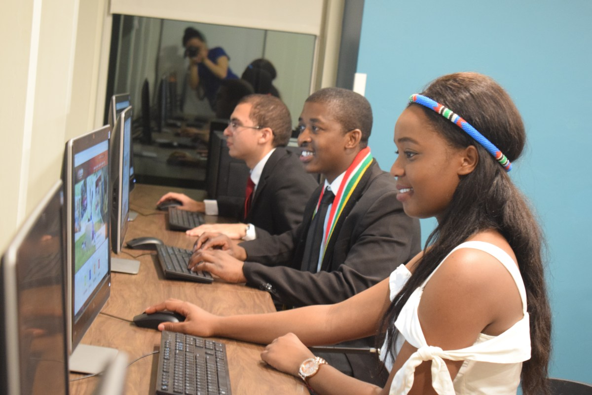 Information Technology CCI Students Bring Computer Skills Training to Underserved Communities