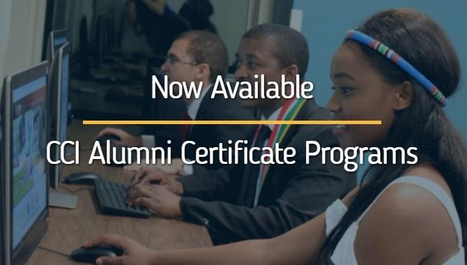 CCI AMA Alumni Certificate Programs