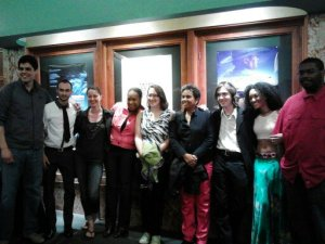After screening of their film at the American Film Institute