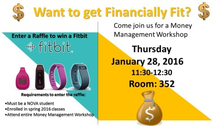 financial aid workshop flyer