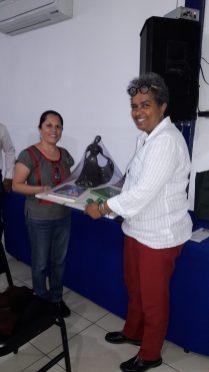 Gift to Professor Lucy Gebre-Egziabher from UNIVAS - Universidad de Jose Vasconcelos de Oaxaca