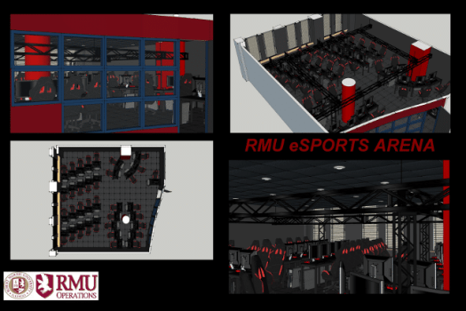 We love it when a plan comes together: Robert Morris University is building a world class training center for its League of Legends team.