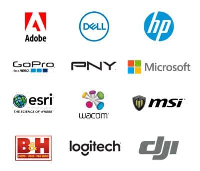 logos of NVIDIA partners at Adobe MAX