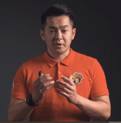 David Tseng of National Taiwan University of Science and Technology and CAVEDU