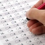 Multiple choice test quiz