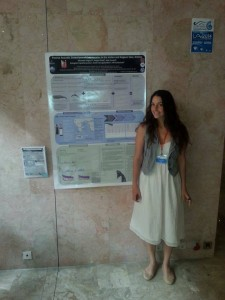 Me and my poster!
