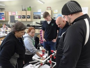 Teachers learn to build ROVs