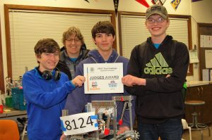 West Coast Robotics team from Bandon High School